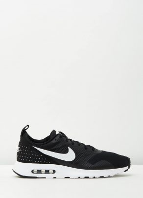 Nike Mens Air Max Tavas Black White 1