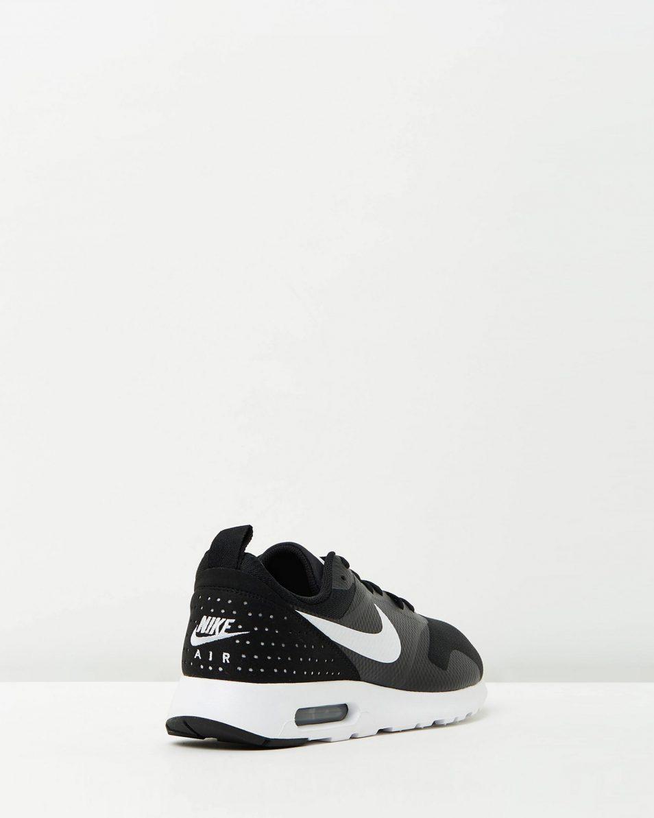 Nike Mens Air Max Tavas Black White 2