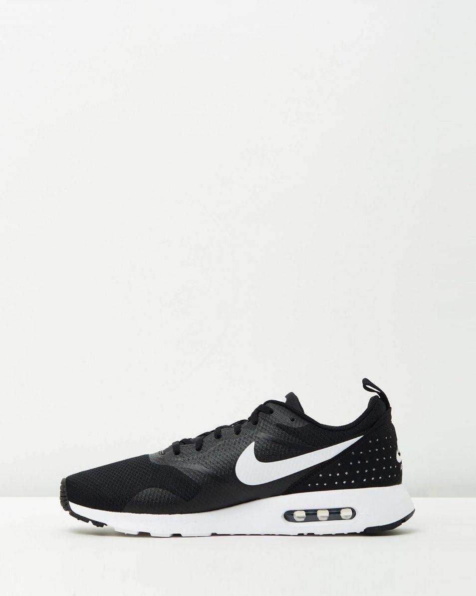 Nike Mens Air Max Tavas Black White 3