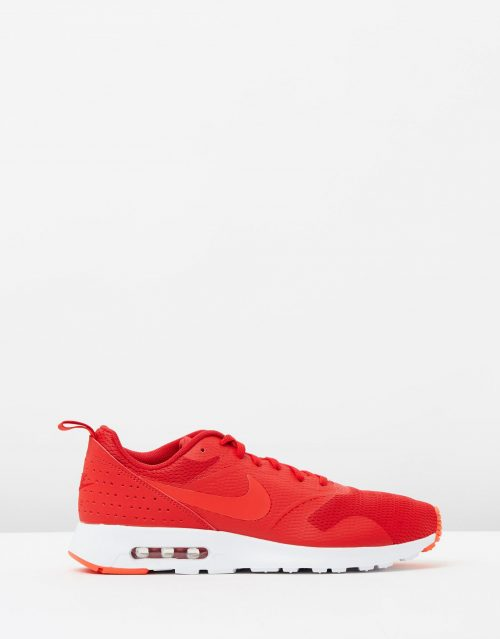 Nike Mens Air Max Tavas Leather University Red 1