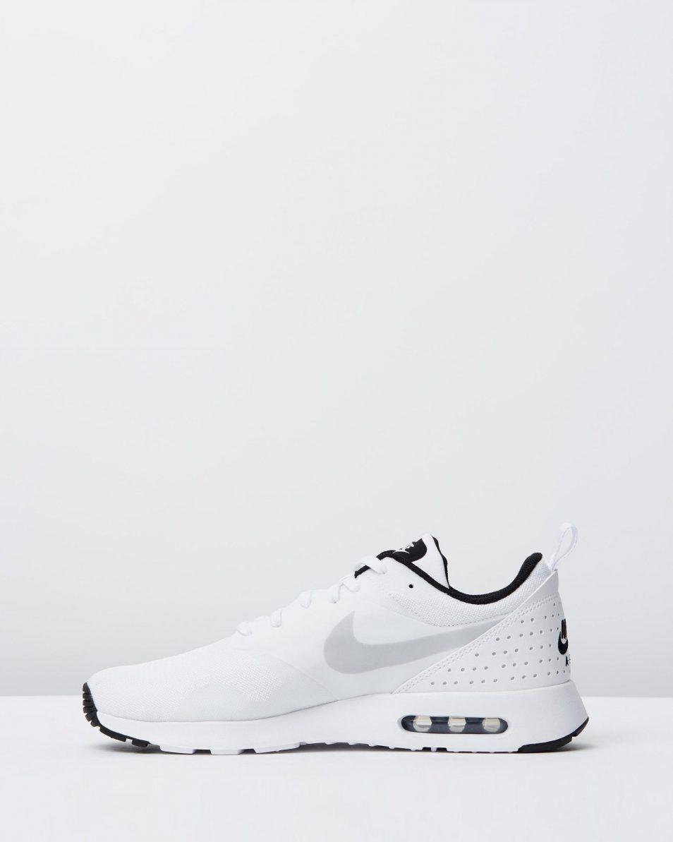 Nike Mens Air Max Tavas White Pure Platinum Black 3