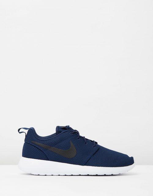Nike Mens Roshe One Midnight Navy Black White 1