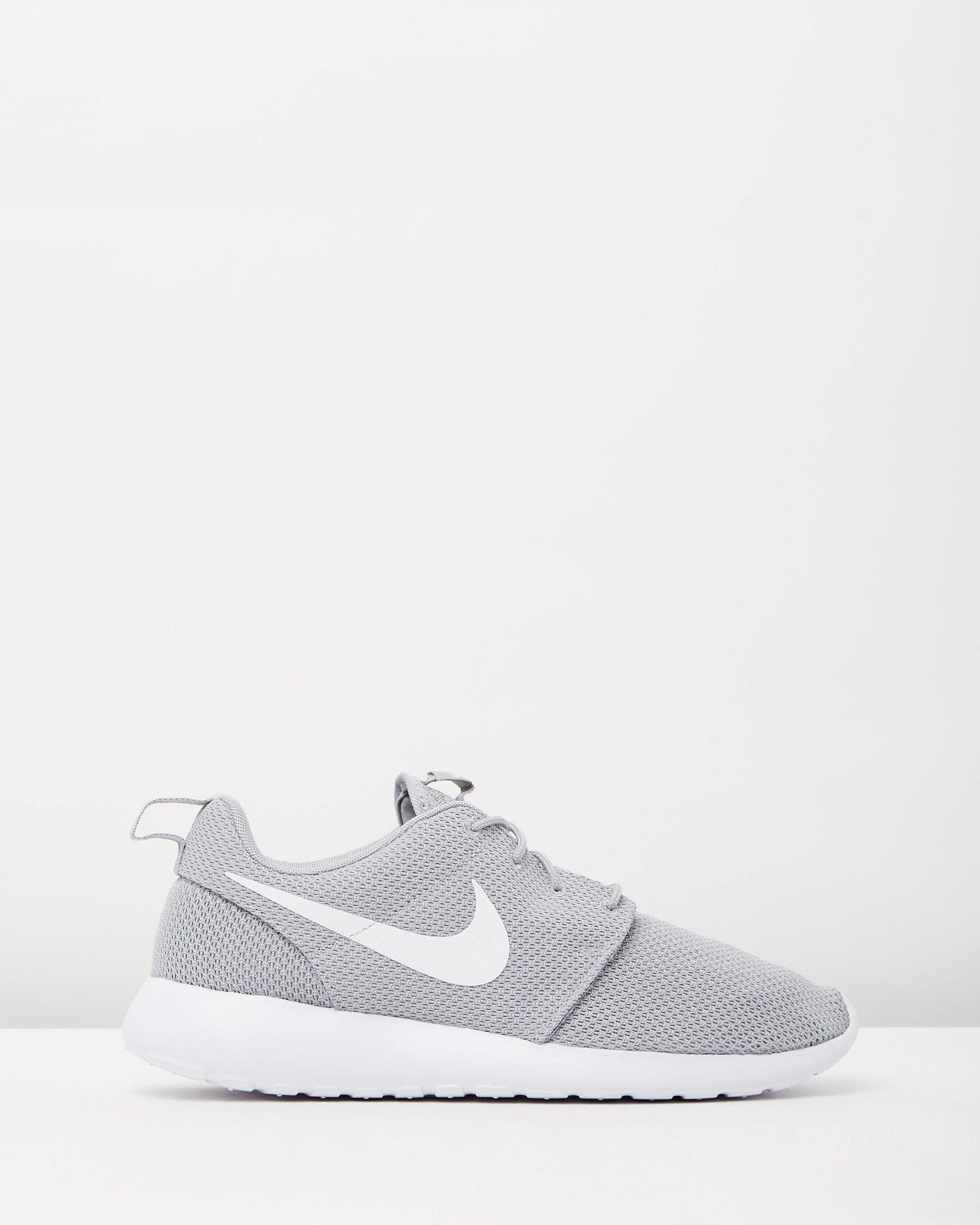 Nike Mens Roshe One Wolf Grey & White