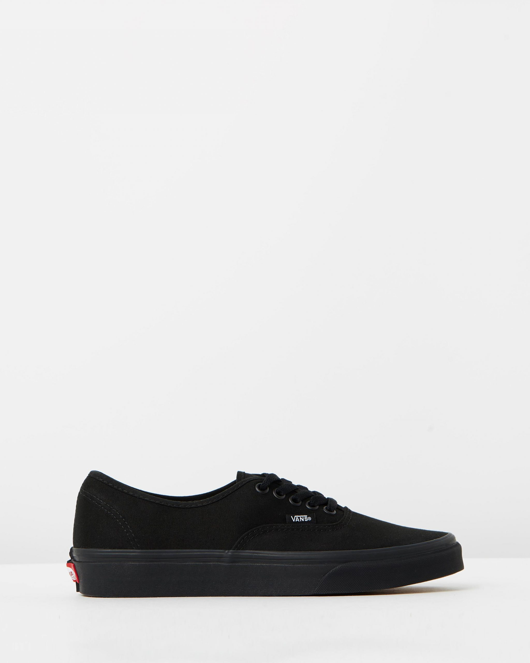 Vans Authentic Black & Black Men's Trainers