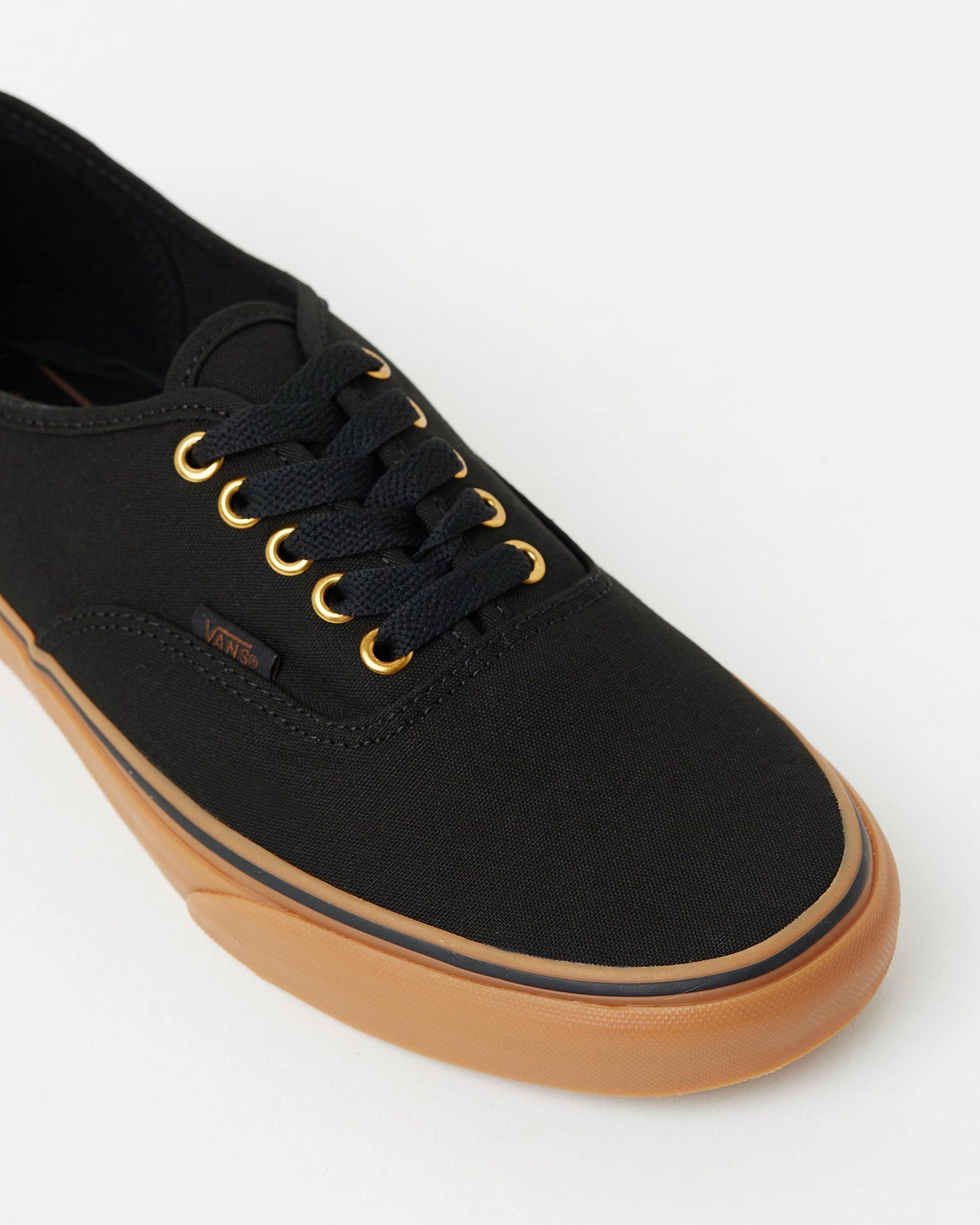 Vans Authentic Black \u0026 Rubber Men's