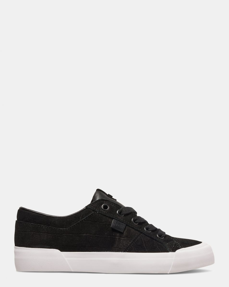 DC Black Smooth Danni Xe Womens Low Top 1