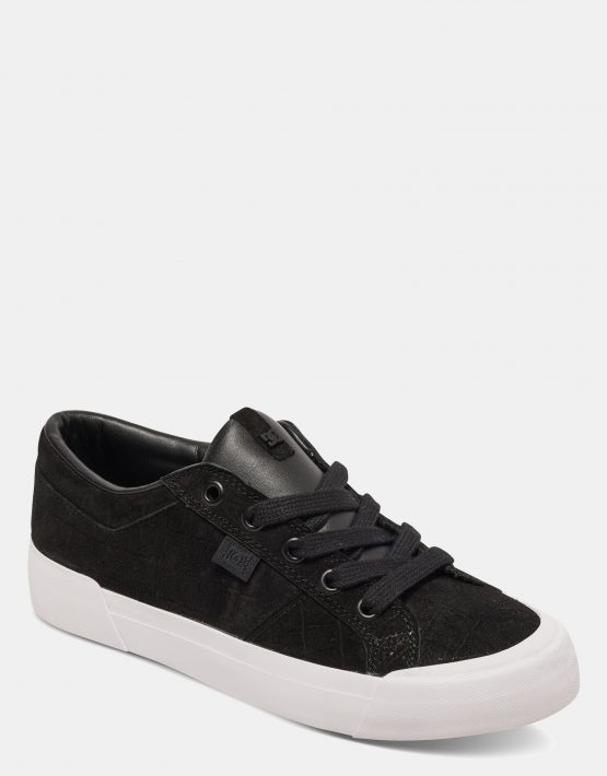 DC Black Smooth Danni Xe Womens Low Top 2