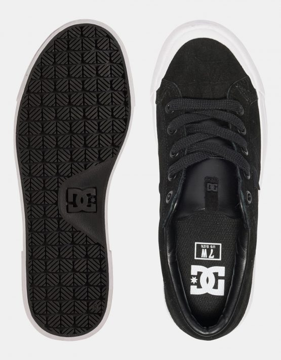 DC Black Smooth Danni Xe Womens Low Top 3