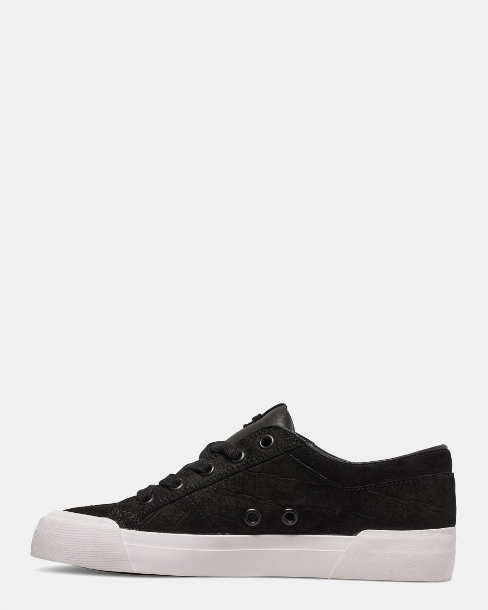 DC Black Smooth Danni Xe Womens Low Top 4