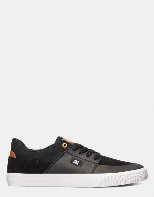 DC Mens Wes Kremer Shoe Black Brown White 1