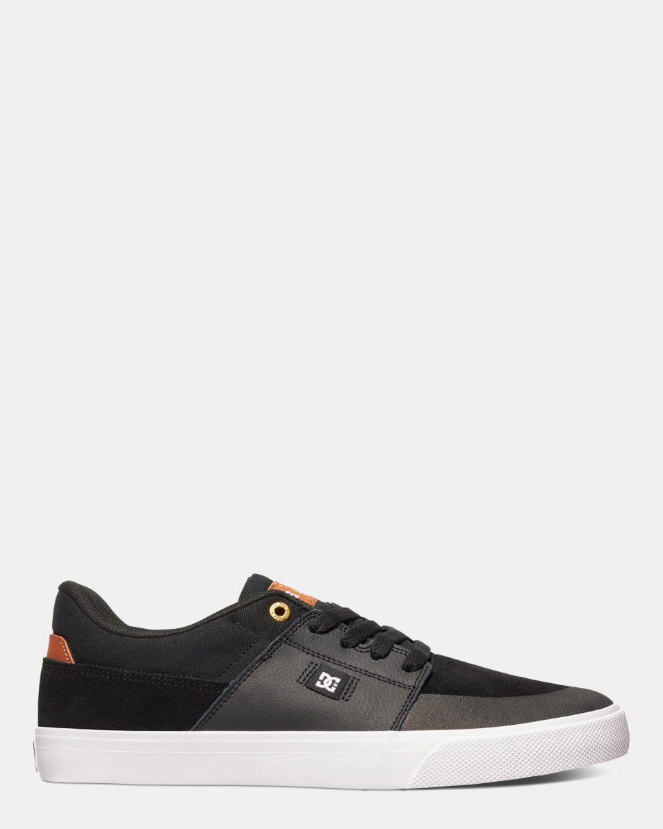 DC Mens Wes Kremer Shoe Black Brown White 1