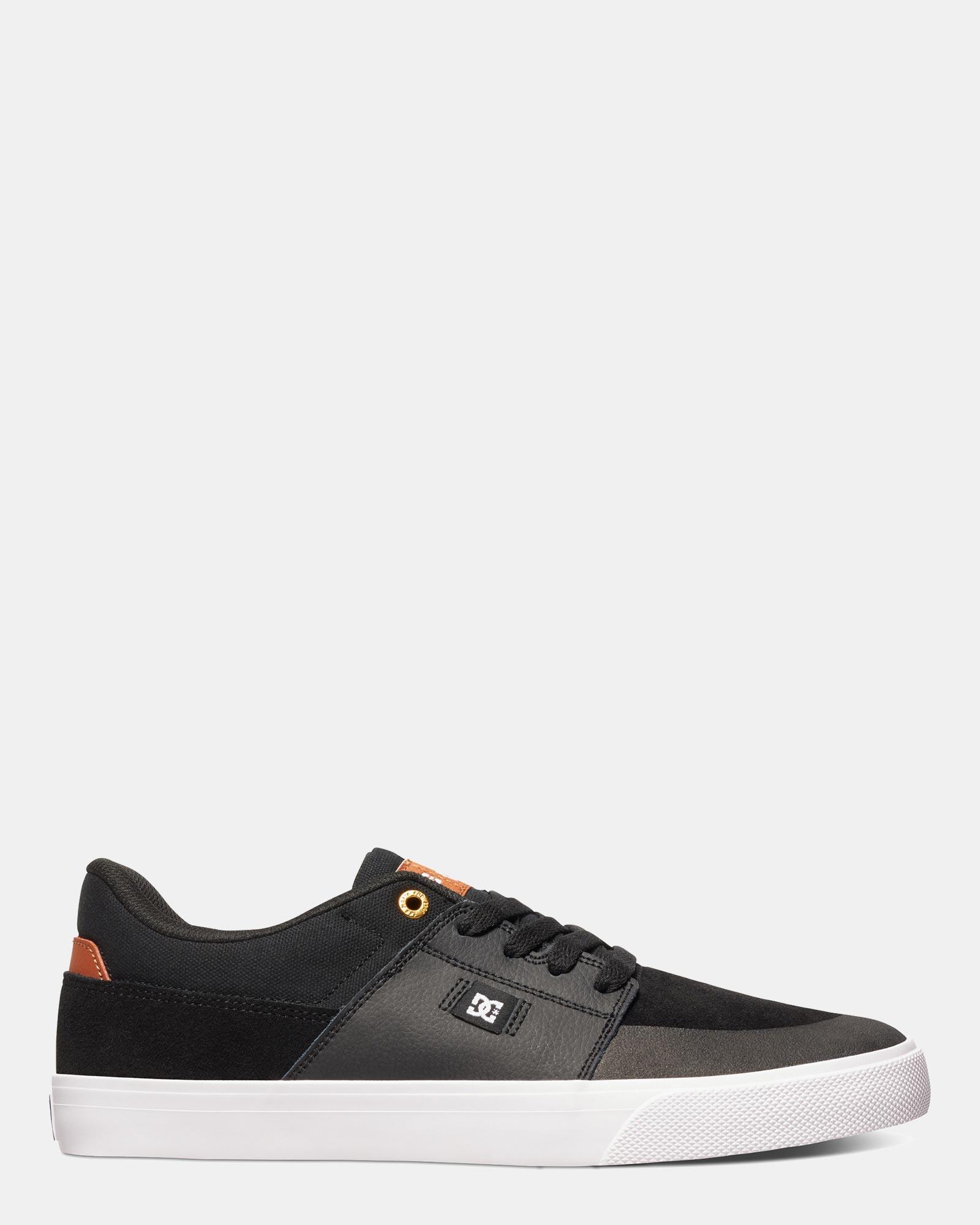 DC Mens Wes Kremer Shoe Black/Brown/White