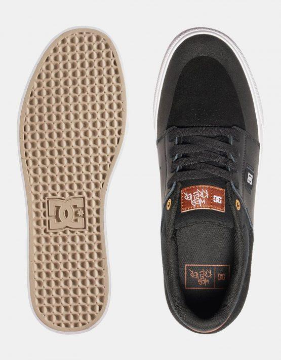 DC Mens Wes Kremer Shoe Black Brown White 2