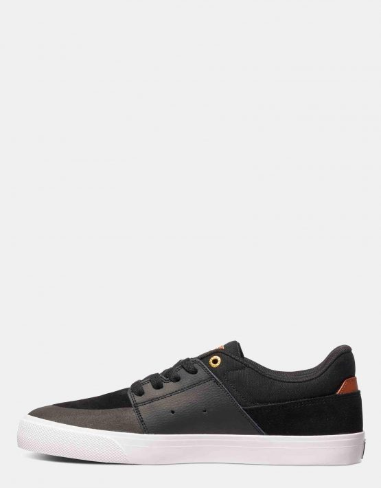 DC Mens Wes Kremer Shoe Black Brown White 3