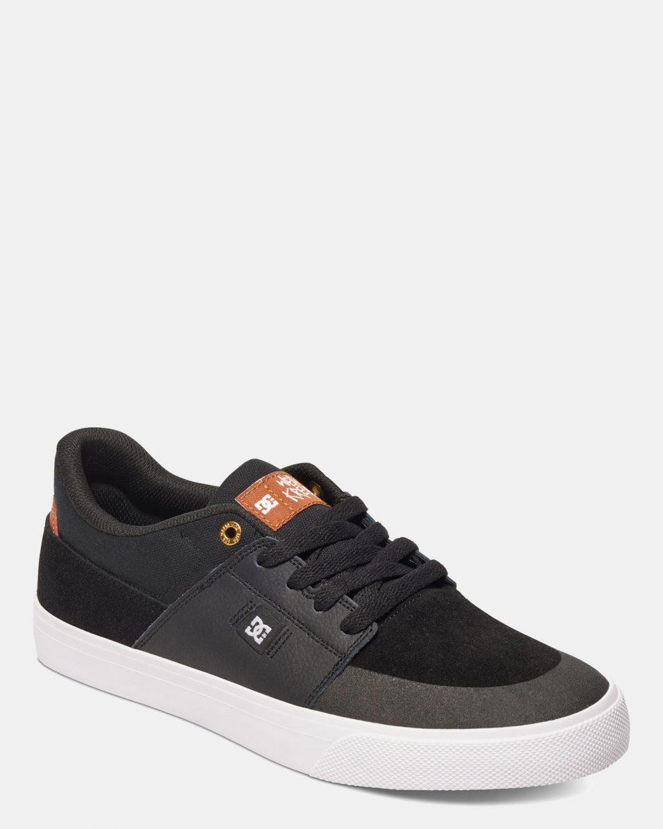 DC Mens Wes Kremer Shoe Black Brown White 4