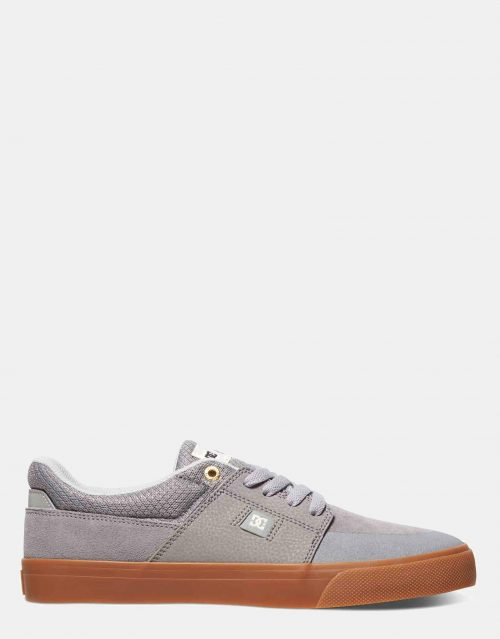 DC Mens Wes Kremer Shoe Grey Gum 1