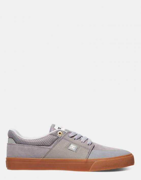 DC Mens Wes Kremer Shoe Grey Gum 1