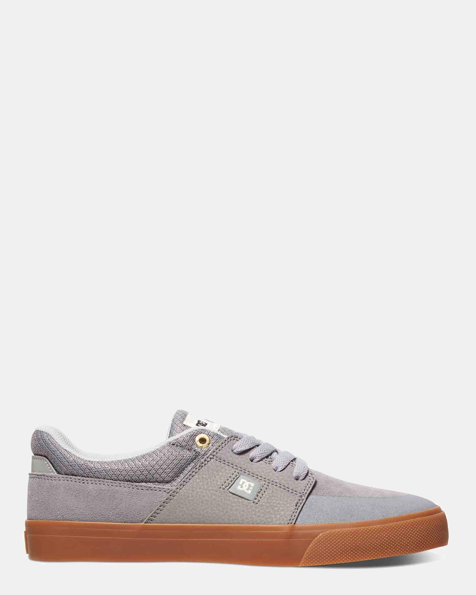 DC Mens Wes Kremer Shoe Grey Gum