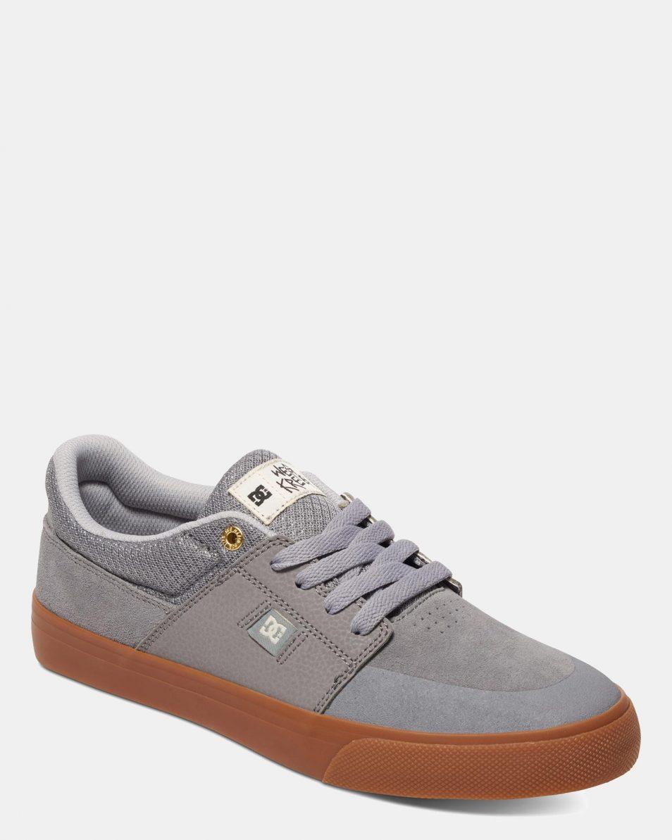 DC Mens Wes Kremer Shoe Grey Gum 3