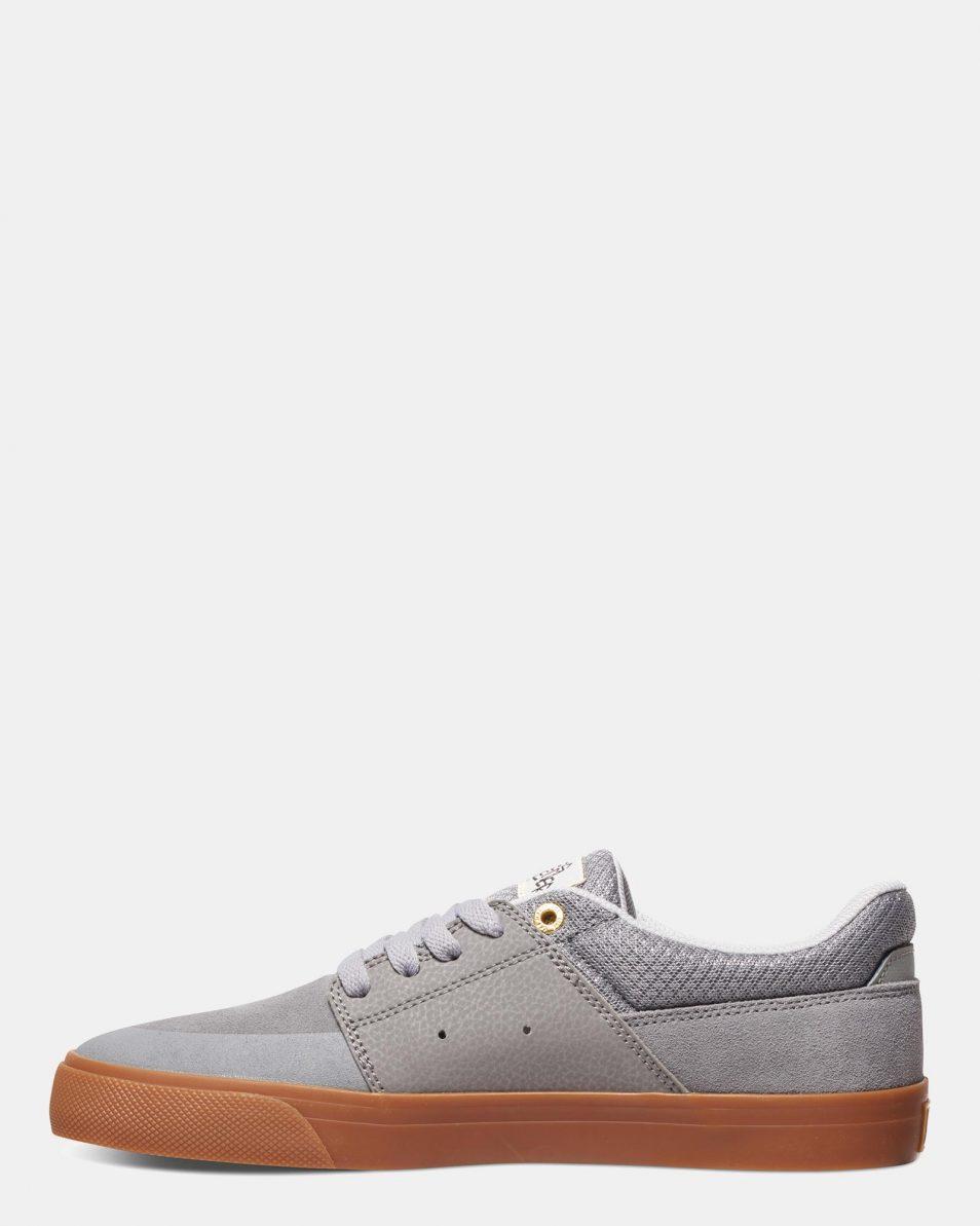 DC Mens Wes Kremer Shoe Grey Gum 4