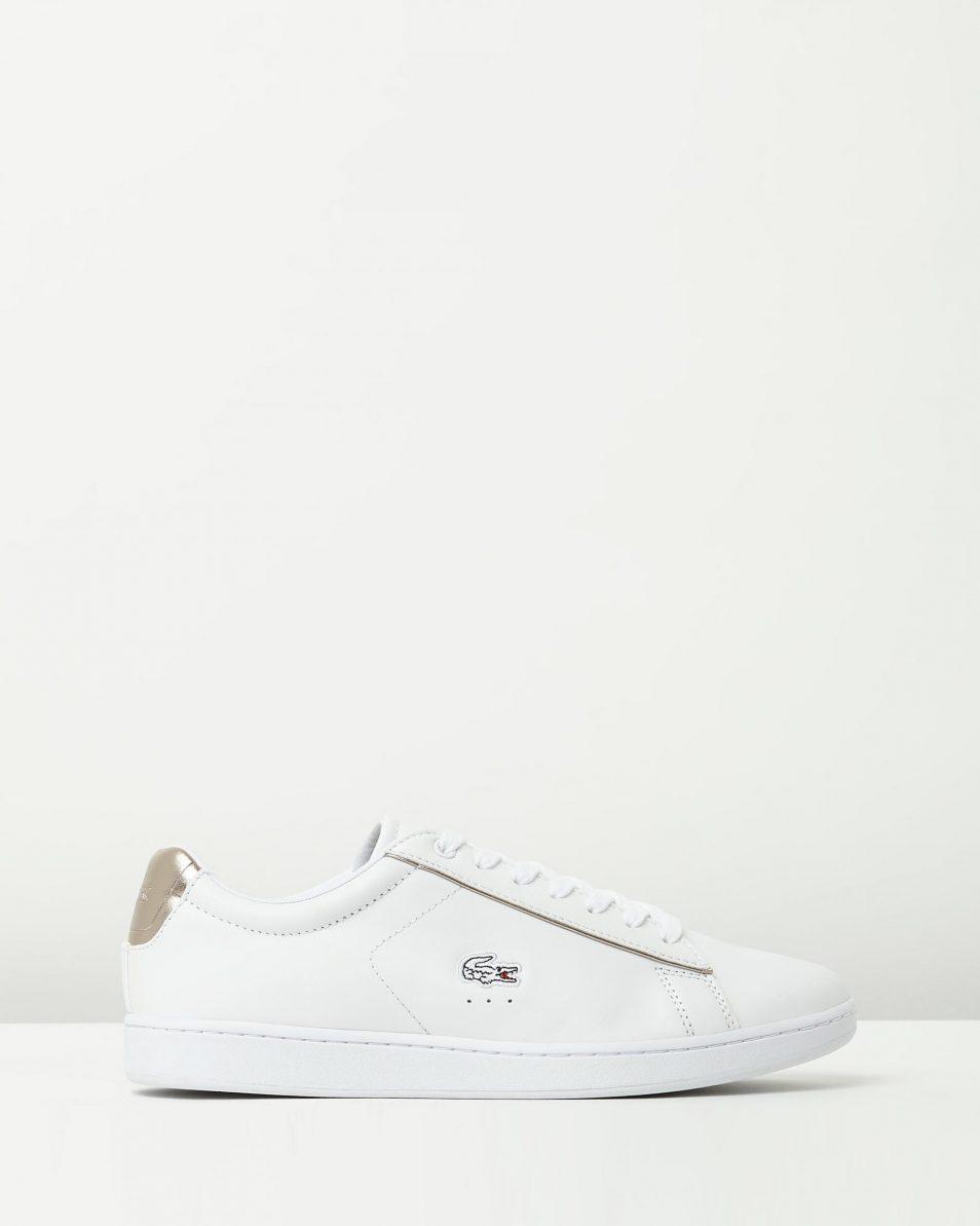 Lacoste Womens Carnaby EVO 316 White Sneaker 1