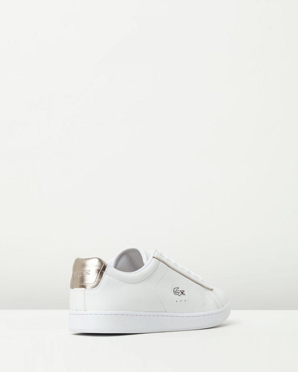 Lacoste Womens Carnaby EVO 316 White Sneaker 2