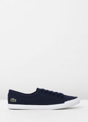 Lacoste Womens Lancelle BL 2 Navy 1