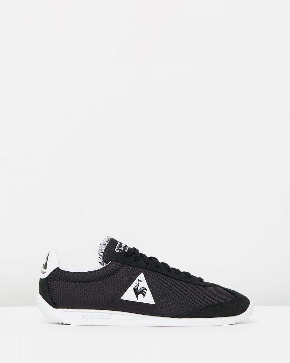 Le Coq Sportif Quartz Nylon Sneakers Black 1