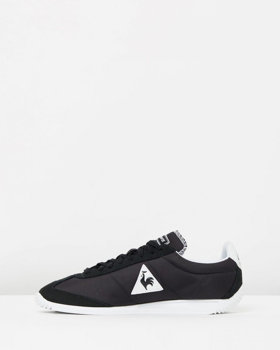 Le Coq Sportif Quartz Nylon Sneakers Black 3