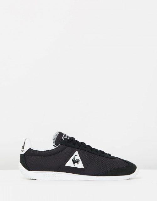 Le Coq Sportif Quartz Nylon Sneakers In Black 1