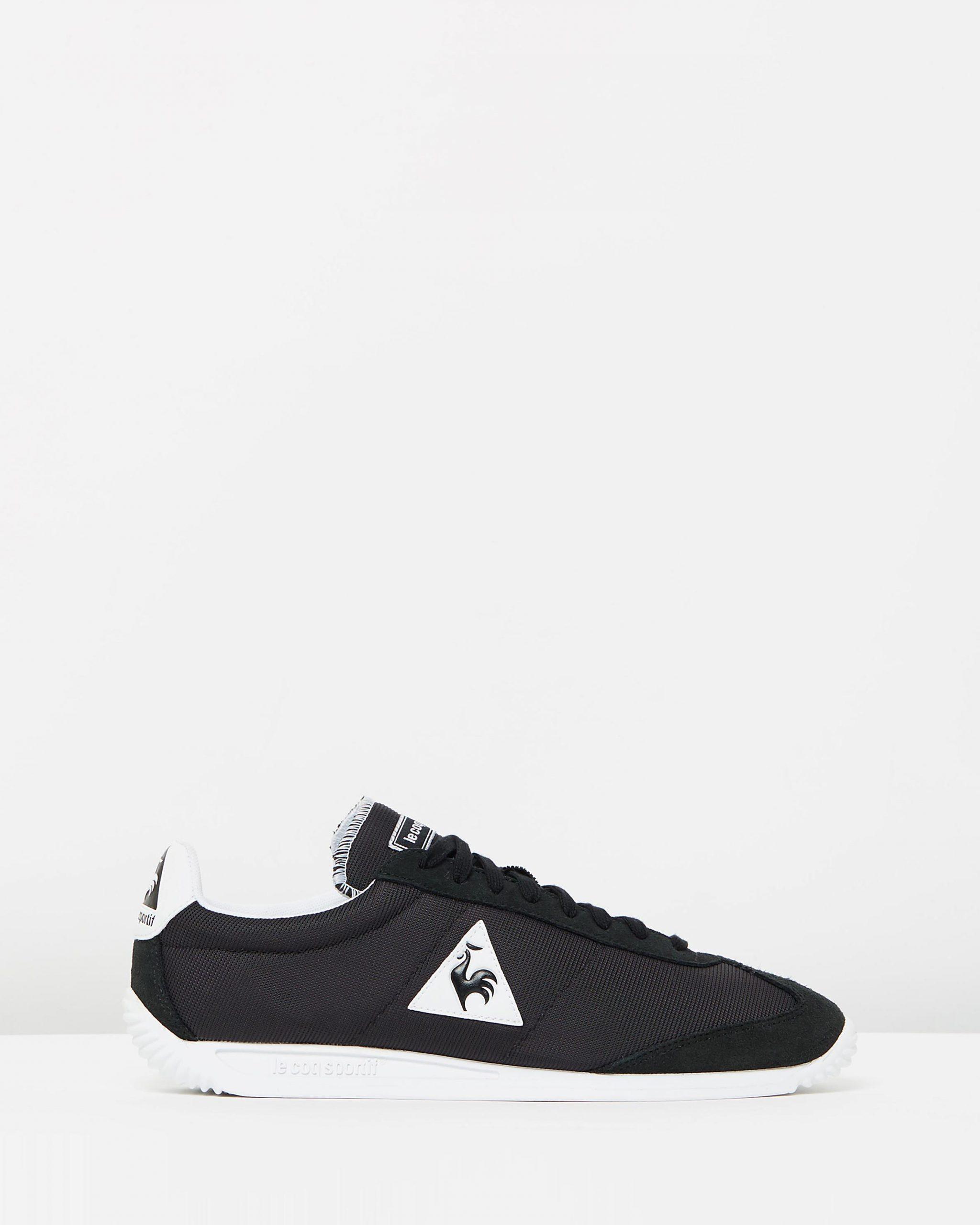 Le Coq Sportif Quartz Nylon Sneakers In Black