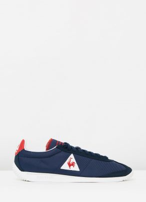 Le Coq Sportif Quartz Nylon Sneakers In Dress Blue 1