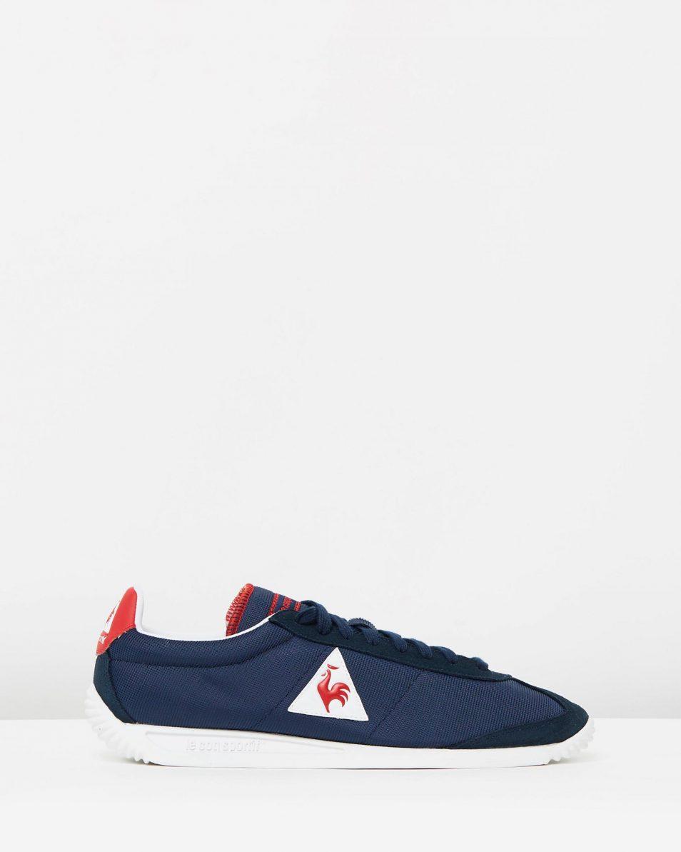 Le Coq Sportif Quartz Nylon Sneakers In Dress Blue 1