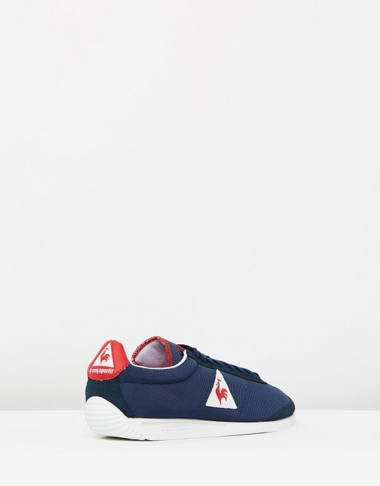 Le Coq Sportif Quartz Nylon Sneakers In Dress Blue 2