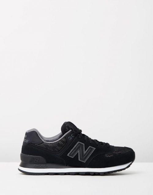New Balance Womens WL574 Nouveau Lace Black 1