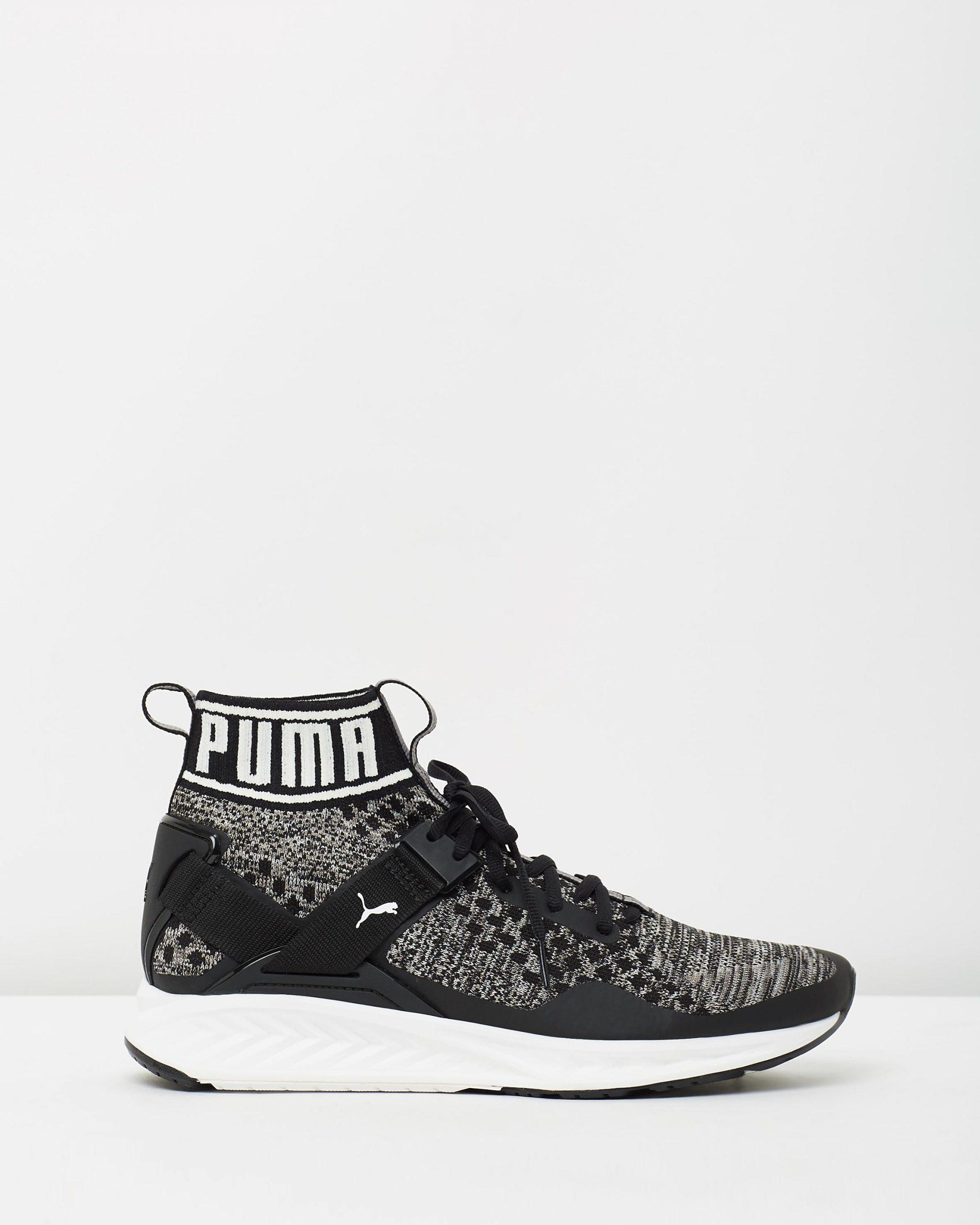 Puma Ignite 3 Evoknit Black