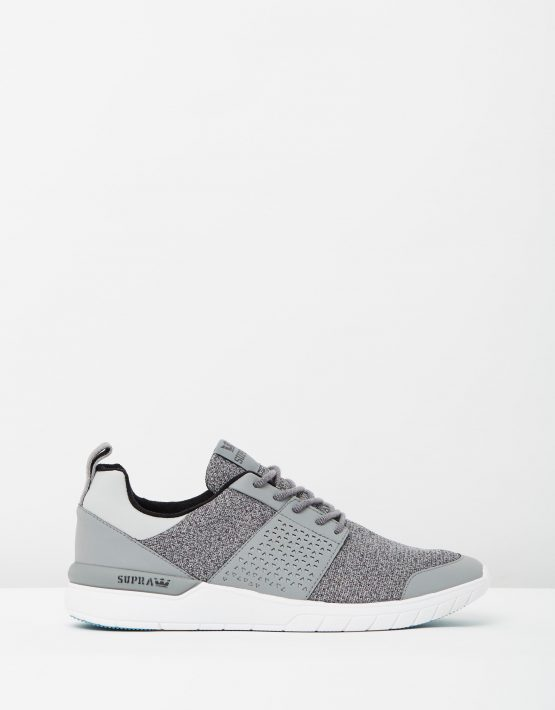 Supra Mens Scissor Grey Charcoal Aqua 1
