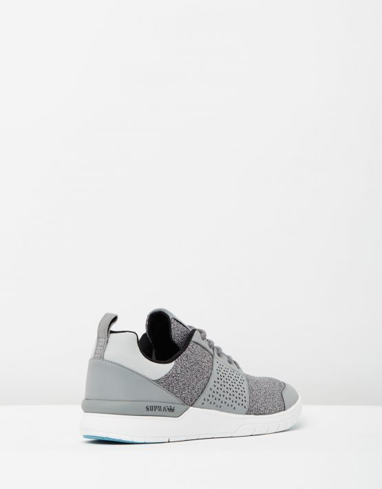 Supra Mens Scissor Grey Charcoal Aqua 2