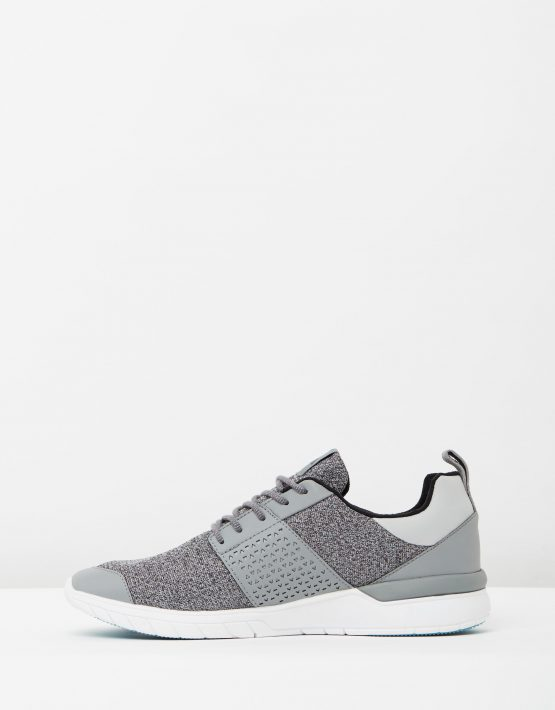 Supra Mens Scissor Grey Charcoal Aqua 3
