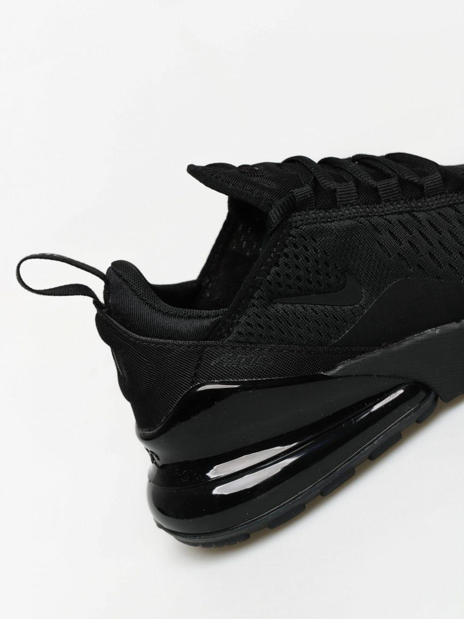 Nike Women's AIR MAX 270 Sneakers Black